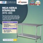 Jual Meja Kerja Stainless (WTS-180) di Bali