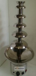 Jual Mesin Chocolate Fountain 6 Tier (MKS-CC6) di Bali