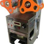 Jual Mesin Cup Sealer Full Otomatis Stainless (CPS-12A) di Bali