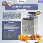 Jual Mesin Gas Fryer 17 Liter (MKS-GF181) di Bali