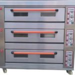Jual Mesin Oven Roti Gas 3 Rak 9 Loyang (GO39) di Bali