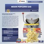Jual Mesin Popcorn Gas (MKS-POP10) di Bali