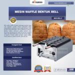 Jual Mesin Waffle Bentuk Bell (MKS-BELL5) di Bali