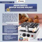 Jual Mesin Waffle Bentuk Kacang Walnut (WLN10) di Bali