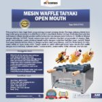 Jual Mesin Waffle Taiyaki Open Mouth (ETYK3) di Bali