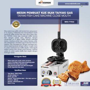 Jual Mesin Kue Waffle Ikan Taiyaki – Gas (TYK02) di Bali