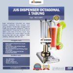 Jual Jus Dispenser Octagonal 1 Tabung (DSP31) di Bali