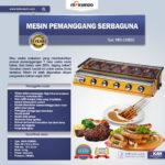 Jual Mesin Pemanggang Sate – BBQ 6 Tungku (Gas) Di Bali