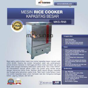 Jual Rice Cooker Kapasitas Besar 25 kg 8 Rak di Bali
