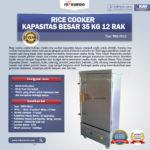 Jual Rice Cooker Kapasitas Besar 35 Kg 12 Rak di Bali