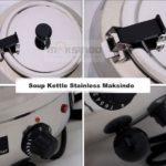 Jual Mesin Penghangat Sop Stainless (Soup Kettle) – SB7000 di Bali