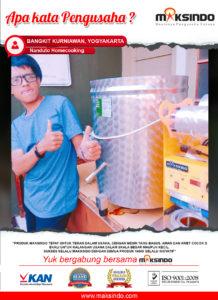 Nanduto Homecooking: Produk Maksindo, Teman Untuk Usaha