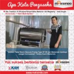 Kripik Buah Eprass : Usaha Produksi Kripik Saya Sangat Memuaskan dengan Mesin Vacuum Frying Maksindo