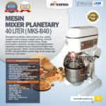 Jual Mesin Mixer Planetary 40 Liter (MKS-B40) di Bali