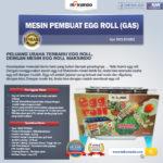 Jual Mesin Pembuat Egg Roll (Gas) di Bali