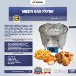 Jual Mesin Gas Fryer MKS-15L di Bali