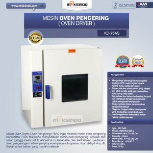 Jual Mesin Oven Pengering (Oven Dryer)-75AS di Bali