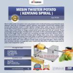 Jual Mesin Twist Potato di Denpasar, Bali