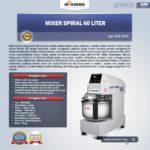 Jual Mixer Spiral 60 Liter (MKS-SP60) di Bali
