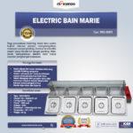 Jual Electric Bain Marie MKS-BMR5 ( Penghangat Makanan) di Bali