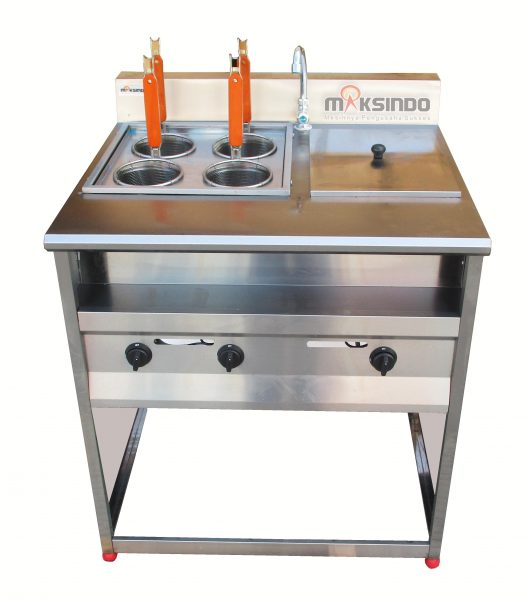 Jual Gas Pasta Cooker With Bain Marie (4 Baskets) MKS-PCBM4 di Bali
