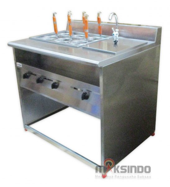 Jual Gas Pasta Cooker With Bain Marie (6 Baskets) MKS-PCBM6 di Bali