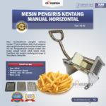 Jual Mesin Pengiris Kentang Manual Horizontal (KG-02) di Bali