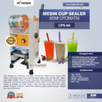 Jual Mesin Cup Sealer Semi Otomatis di Denpasar, Bali