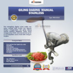 Jual Giling Daging Manual Stainless MKS-SG10 di Bali