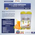 Jual Mesin Juice Dispenser 2 Tabung (17 Liter) – DSP17x2 di Bali
