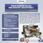 Jual Mesin Kambing Guling BBQ Roaster (GRILLO-LMB33) di Bali