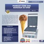 Jual Pembuat Cone dan Mangkuk Es Krim (CIC14) di Bali