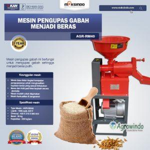 Jual Mesin Rice Huller Mini Pengupas Gabah – Beras AGR-RM40 di Bali