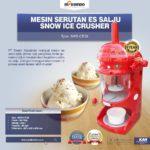 Jual Mesin Serutan Es Salju (Snow Ice Crusher) MKS-ICE38 di Bali