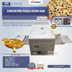Jual Conveyor Pizza Oven Gas di Bali