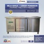 Jual Meja Kerja + Lemari Pendingin (Working Table With Freezer) MKS-WTS201 di Bali