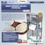 Jual Mesin Pemarut Kelapa Stainless PRT-125 di Bali