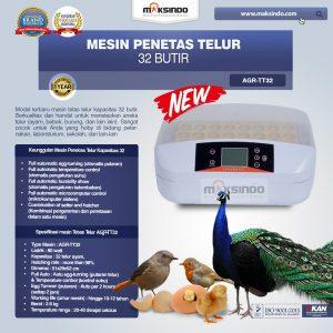 Jual Mesin Penetas Telur 32 Butir (AGR-TT32) di Bali