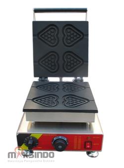 Jual Mesin Waffle Maker Bentuk Hati (Love) MKS-GNG4 di Bali