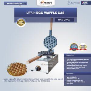 Jual Mesin Egg Waffle Gas (GW07) di Bali