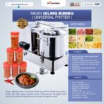 Jual Mesin Giling Bumbu (Universal Fritter) MKS VGC9 di Bali