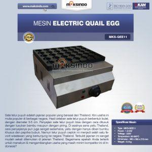 Jual Mesin Electric Quail Egg MKS-QEE11 di Bali