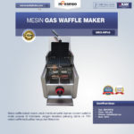 Jual Mesin Gas Waffle Maker MKS-WF48 di Bali