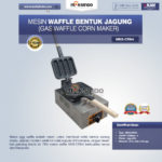 Jual Mesin Waffle Bentuk Jagung (Gas Waffle Corn Maker) MKS-CRN4 di Bali