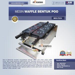 Jual Mesin Waffle Bentuk Poo (MKS-POO4) di Bali