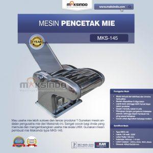 Jual Mesin Cetak Mie (MKS-145) di Bali