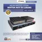Jual Listrik Waffle Bentuk Hati 50 Lubang MKS-HSW50E di Bali
