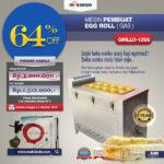 Jual Mesin Pembuat Egg Roll (Gas) GRILLO-12SS di Bali