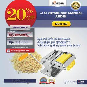 Jual Cetakan Mie Manual Rumah Tangga ARDIN di Denpasar