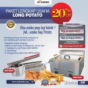 Jual Paket Mesin Long Potato Kentang Panjang di Bali